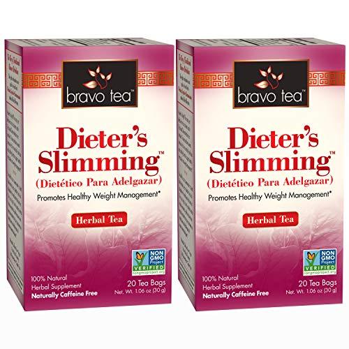 Bravo Teas Dieter's Slimming, 20 Tea Bags 2 Pack