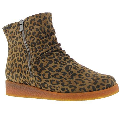 Brown Cassandra Boots Womens Suede Dark Mephisto 60OXxO