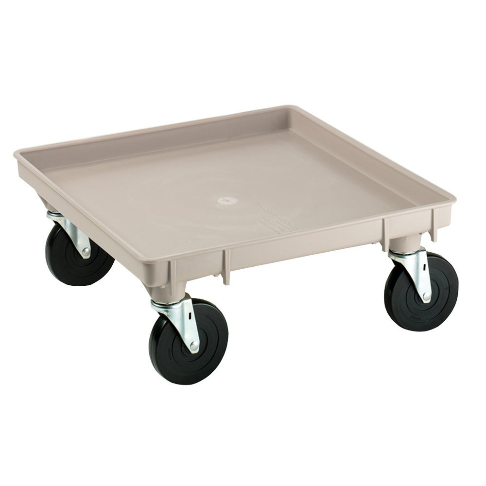 Traex 1697 Beige Glass Rack Dolly without Handles Vollrath