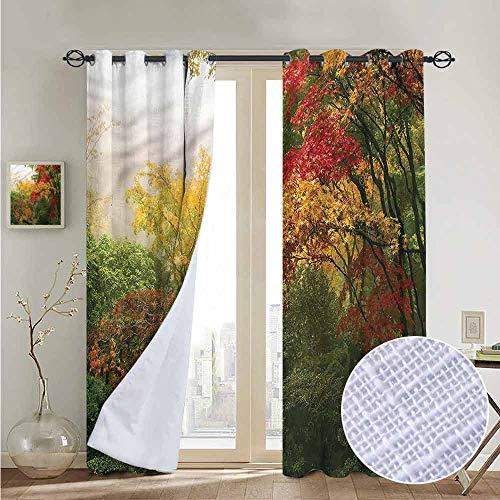 - NUOMANAN Light Blocking Curtains Garden,Portland Japan Garden,for Bedroom, Kitchen, Living Room 120