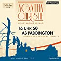 16 Uhr 50 ab Paddington Audiobook by Agatha Christie Narrated by Katharina Thalbach