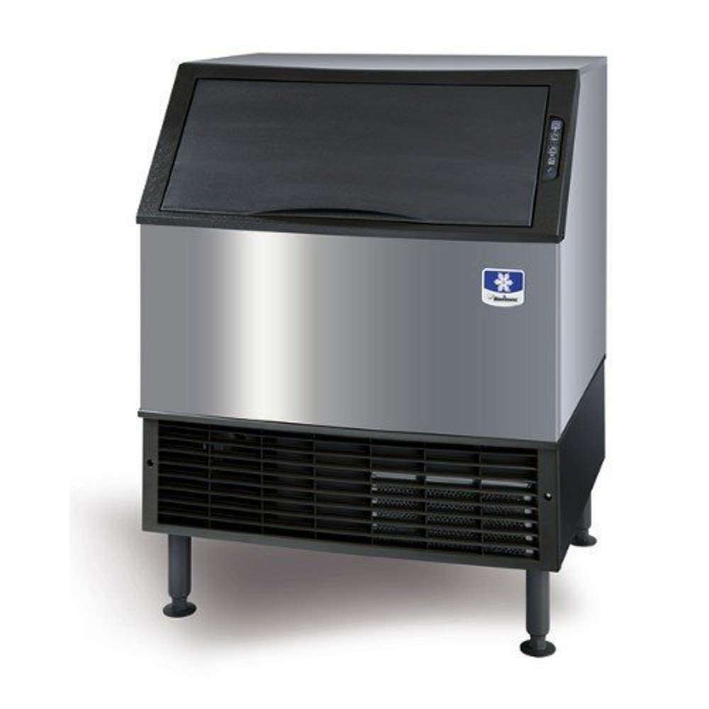 Manitowoc UDF0140A NEO 26' Air Cooled Undercounter Dice Cube Ice Machine with 90 lb. Bin - 115V, 135 lb UD-0140A