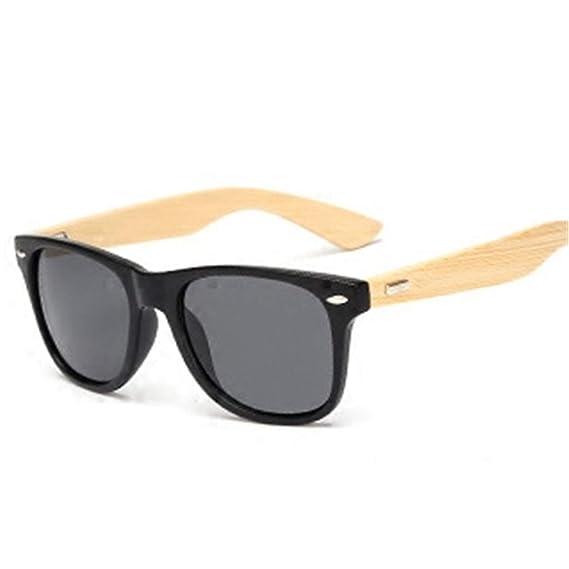 Gafas de sol deportivas, gafas de sol vintage, Bamboo ...