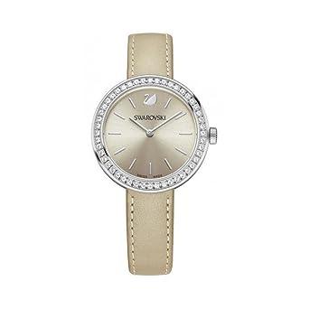 Swarovski Reloj analogico para Mujer de Cuarzo con Correa en Piel 5130547: Amazon.es: Relojes