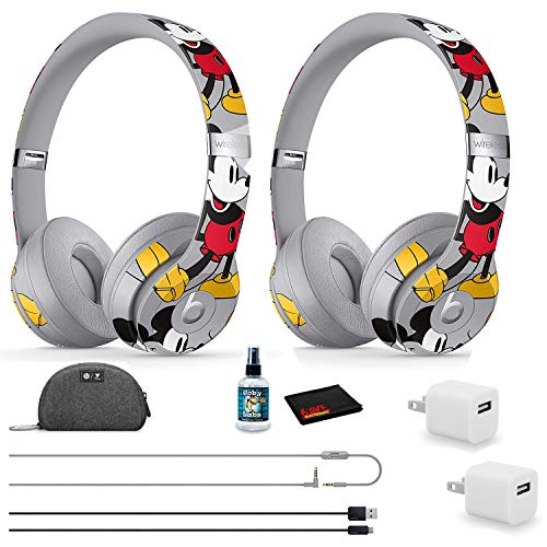 Beats by Dr. Dre Solo3 Wireless Headphones (2 Pack) - Mickey's 90th...
