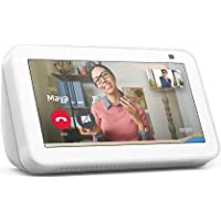 All-new Echo Show 5 (2nd Gen, 2021 release)   Smart display with Alexa and 2 MP camera   Glacier White
