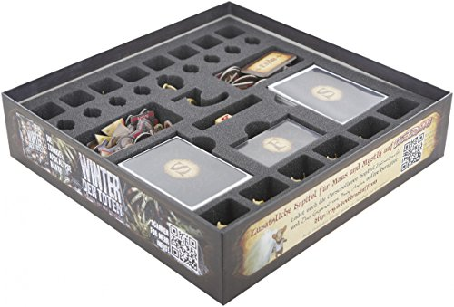 Feldherr Foam tray value set for Mice and Mystics - Core Game (Sorrow and Remembrance) and Heart of Glorm (Mouse Dice)