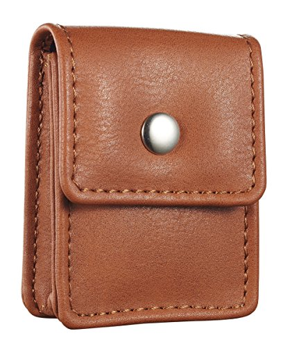 (Genuine Brown Leather Lighter Pouch with Belt Loop (Fits Standard