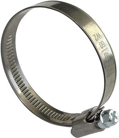 M12 Metal galvanizado 16 mm /Ø DIN 741 Abrazaderas Eslingas Clip de cable Engarzado Perno en U Sujetador de sill/ín para cable de acero Paquete de 1 pieza 1