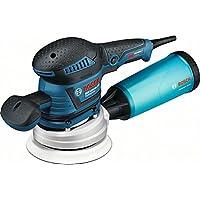 Bosch Professional GEX 125-150 AVE Exzenterschleifer, 2 Schleifteller (125mm, 150mm), 2x Schleifpapier, 400 W, Karton