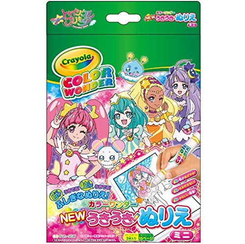 [해외]스타 ☆ トゥインクルプリキュア NEW 원기 컬러링 칼라 원더 미니 / Star Twinkin precure new exhilarating coloring color wonder mini