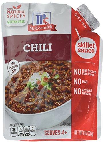 McCormick Chili Skillet Sauce Case