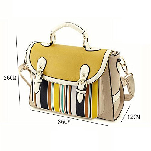 Mochila para mujer de las muchachas de las señoras la versión coreana ocasional del bolso de mano a cuadros de la tendencia femenina del bolso de hombro de las mujeres empaqueta el pequeño bolso cuadr