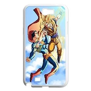 Superman Vs Goku Vector 51 0 Samsung Galaxy N2 7100 Cell Phone Case White gife pp001_9267754
