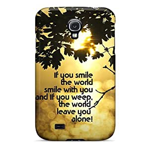 New If You Smile Tpu Skin Case Compatible With Galaxy S4