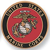 United States Marine Corp 2 Inch Medallion, Pack of 10