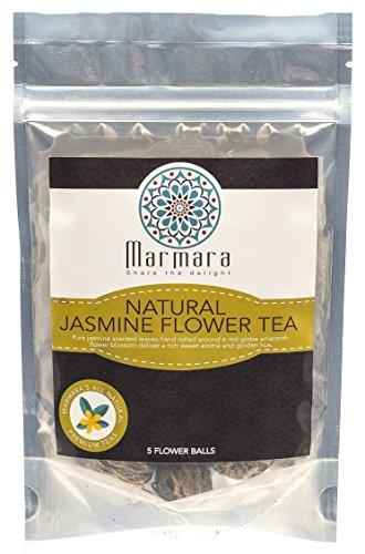 Marmara Natural Jasmine Flower Tea, 4-Ounce