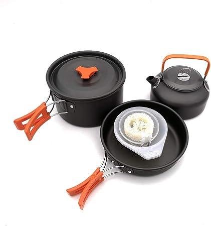Utensilios de cocina de camping Kit de 2 a 3 Portable People ...