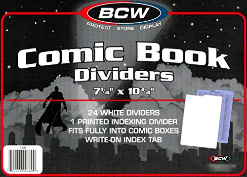 ers For Short Or Long Comic Book Storage Boxes ()
