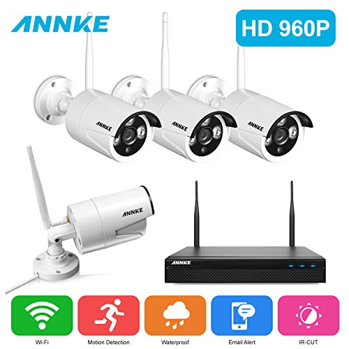 Surveillance Dvr Kits Annke 1 3megapixel 1080p Wireless