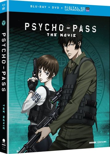 Psycho-Pass: The Movie (Blu-ray/DVD Combo + UV) by FUNimation