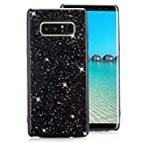 Samsung Galaxy S7 Edge Case [with Free Screen Protector],Funyee Luxury Shiny Sparkle Diamond Ultra-Thin Silicone Gel TPU Anti Scratch Durable Rubber Smart Case for Samsung Galaxy S7 Edge,Black