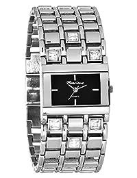 Marciano Women's | Wide Fashion Rhinestone Bracelet Watch & Rectangular Case | HA0231