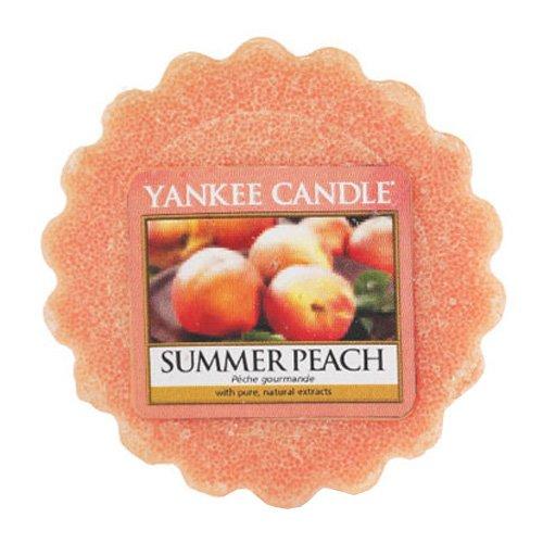 5 opinioni per Yankee Candle Summer Peach Tart da Fondere, Cera, Arancione, 5.7 x 5.7 x 1.7 cm