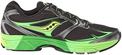 Saucony - Guide 8 Chaussures de running Hommes (vert/noir) - EU 45 - US 11