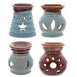 Small Ceramic Cut-Out Design Oil Burner 8