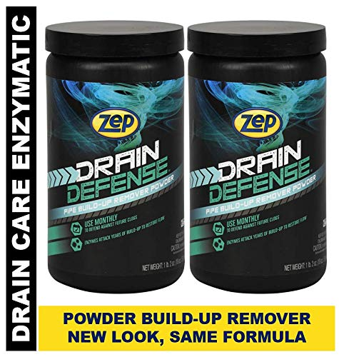 Zep Drain Defense Enzymatic ドレインクリーナーパウダー ZDC16 16オンス 16 ホワイト B07M5C4XK3  2