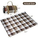 Extra Large Picnic Blanket 3 Layers for Waterproof