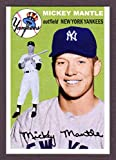 Mickey Mantle 1954 Topps Style Custom Card (Yankees)