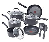 T-fal 2100093959 Scratch Resistant, 12 Piece, Gray