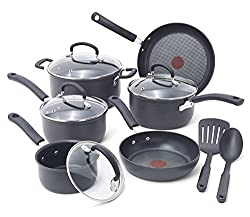 T-Fal Ultimate Hard-Anodized Nonstick Saute Pan Set Review