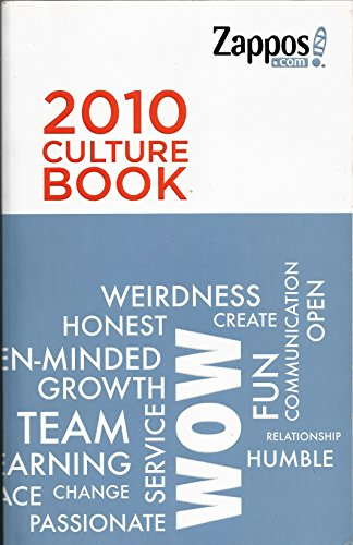 2010 CULTURE BOOK; [Paperback] by Zappos