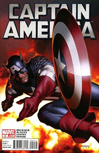 Captain America (6th Series) #2 FN ; Marvel comic book (Peggy Carter Captain America 2)