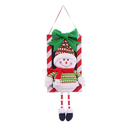 christmas decorations christmas snowman pendant cute doll christmas shopping mall supermarket window hotel holiday set props