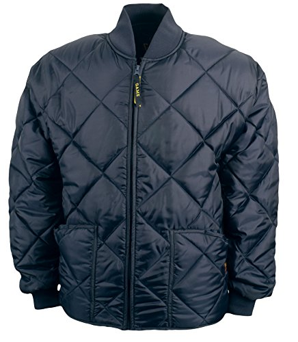 Game Sportswear Men's Diamond Quilt Jacket X-Large Navy (Jacket Game)