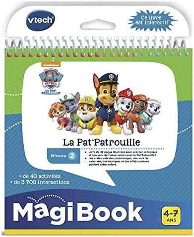 VTech MagiBook Livre La Pat' Patrouille - Juegos educativos (Multicolor, Niño/niña, 4 año(s), 7 año(s), Francés, 178 mm)