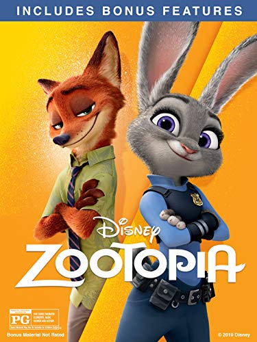 Zootopia (Plus Bonus Features) (Once Upon A Time In Beverly Hills)