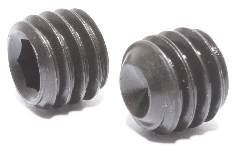 Pack of 100 Alloy Steel Black Oxide 3-48 Thread Hex 3//16 Long Brighton-Best International 101064 Headless Cup-Point Set Screw