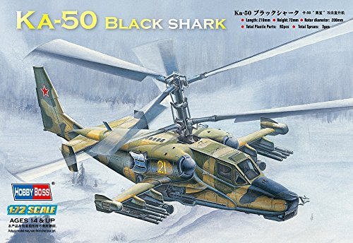 Hobby Boss Ka-50 Black Shark  Attack Helicopter Model Building Kit ()