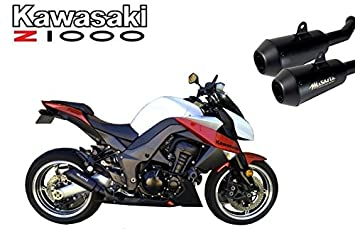 Musarri GP Street Series Slip On Exhaust for 2010 - 2017 Kawasaki Z1000 Ninja 1000