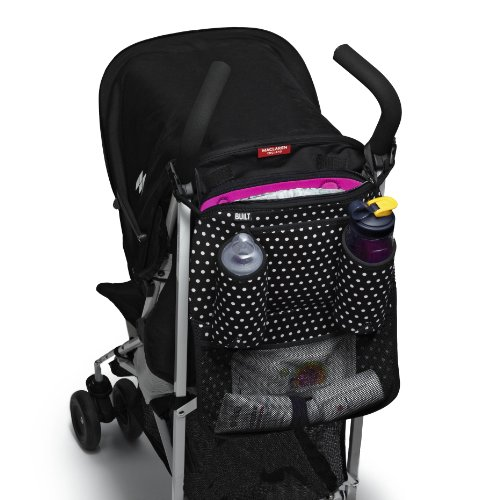 Built Tripper Stroller Organizer Black