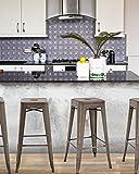Metal Bar Stools Set of 4 Counter Height Barstool