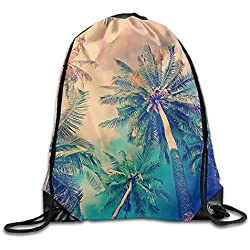 GT-0UJR Tropical Landscape Tour 2017 Poster Canvas Cotton Shopping Bags