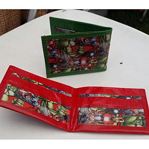 Avengers Bi-Fold Duct Tape Wallet