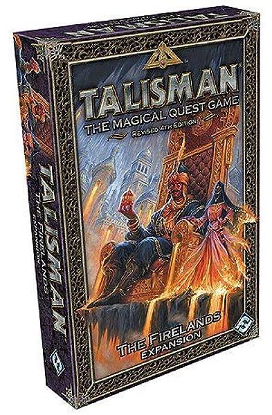 Pegasus Spiele 56209E Talisman The Firelands - Juego de Mesa (expansión): Amazon.es: Juguetes y juegos