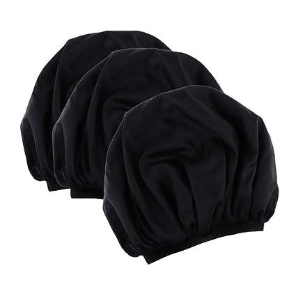 3 Unidades Gorro de Ducha Casquillo Elástico Tapa para Mujer Gorra ...
